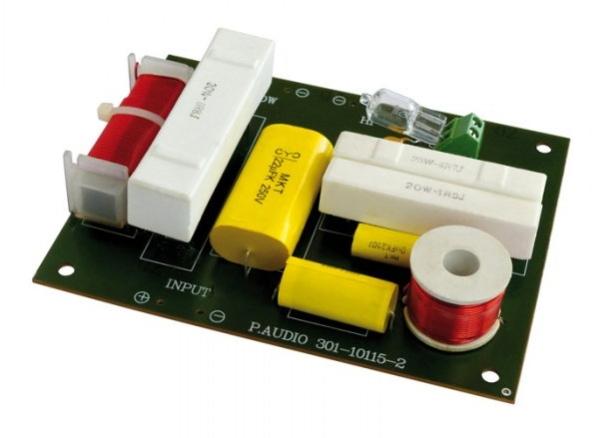adapterland frequenzweiche 2 wege 200 watt. Black Bedroom Furniture Sets. Home Design Ideas